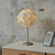 Modern LED Table Lamp PP Flower Shade Metal Bedroom Hotel Bar Decor from Singapore best online lighting shop horizon lights