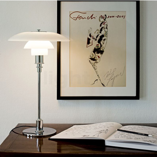 Modern LED Table Lamp Glass Shade Metal Bedroom Study Room Decor from Singapore best online lighting shop horizon lights