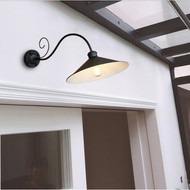 Waterproof Outdoor LED Wall Light Metal IP54 Hallway Retro Color Balcony from Singapore best online lighting shop horizon lights