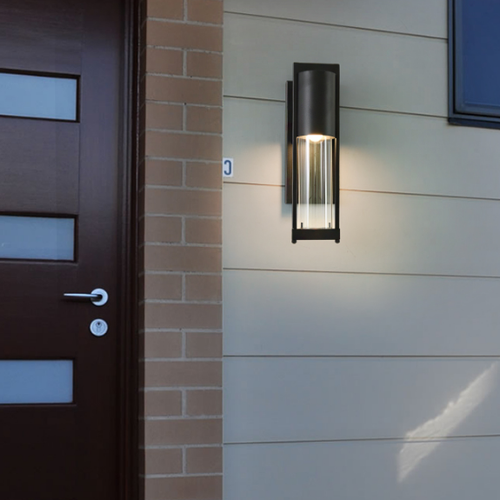 Waterproof LED Garden Light Metal Glass IP45 Outdoor Balcony Wall Light from Singapore best online lighting shop horizon lights