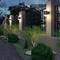 Waterproof LED Garden Wall Light Aluminum Acrylic Outdoor Hallway Park from Singapore best online lighting shop horizon lights