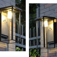 Waterproof LED Garden Light Aluminum Glass Solar Energy Outdoor Wall Light from Singapore best online lighting shop horizon lights