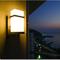 Tower Shield, IP65 Aluminium E27 LED Wall light for Outdoor, Balcony and Garden (side)