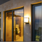 Tower Shield, IP65 Aluminium E27 LED Wall light for Outdoor, Balcony and Garden (front)