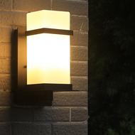 Waterproof LED Outdoor Wall Light Aluminum IP65 Glass Shade Hallway Balcony Garden from Singapore best online lighting shop horizon lights