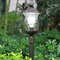 Waterproof LED Garden Light Aluminum Bird Decor Glass Shade Pillar Lawn Lamp from Singapore best online lighting shop horizon lights