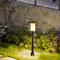 Waterproof LED Garden Lawn Light Marble Shade Aluminum Solar Energy Outdoor from Singapore best online lighting shop horizon lights