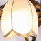 American LED Mirror Wall Light Glass Flower Lampshade Metal Bathroom from Singapore best online lighting shop horizon lights