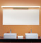 Modern LED Mirror Wall Light Metal Acrylic Shade Minimalism White Bathroom from Singapore best online lighting shop horizon lights
