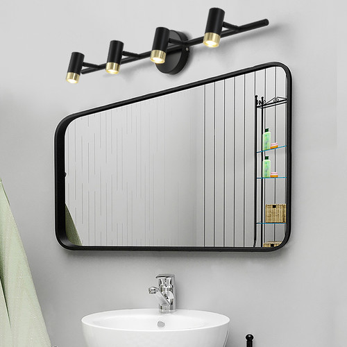Modern LED Mirror Wall Light Metal Aluminum Simple Bathroom Chiffonier from Singapore best online lighting shop horizon lights