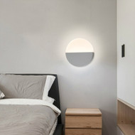 Modern LED Wall Light Metal Acrylic Disc Shape Simple Bedroom Living Room Decor from Singapore best online lighting shop horizon lights