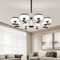 Modern LED Chandelier Light Metal PMMA Creative Living Room Bedroom from Singapore best online lighting shop horizon lights