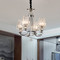 European LED Chandelier Light Crystal Shade Metal Luxurious Lobby Shop Bedroom from Singapore best online lighting shop horizon lights