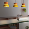 Modern LED Pendant Light Acrylic Metal Colorful Combination Dining Room Cafe from Singapore best online lighting shop horizon lights