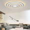 This is the scene picture. Modern LED Ceiling Light Acrylic Round Lampshade Practical Simple Living Room from Singapore best online lighting shop horizon lights