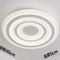This is the dimension drawing. Modern LED Ceiling Light Acrylic Round Lampshade Practical Simple Living Room from Singapore best online lighting shop horizon lights