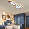 Modern LED Ceiling Light Acrylic Metal Rocket Shape Creative Childern Bedroom Lighting from Singapore best online lighting shop horizon lights