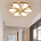 This is the scene picture. Modern LED Ceiling Light Acrylic Flowers Shape Living Room Bedroom Decor from Singapore best online lighting shop horizon lights