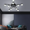 This is the scene picture. Modern LED Ceiling Light Glass Lampshade Magic Beans Metal Living Room Bedroom from Singapore best online lighting shop horizon lights