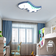 Modern LED Ceiling Light Metal Acrylic Dinosaur Shape Children's Bedroom Decor from Singapore best online lighting shop horizon lights