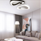 Modern LED Ceiling Light Metal Acrylic Artistic Bedroom Study Room from Singapore best online lighting shop horizon lights