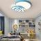 Modern LED Ceiling Light Metal Acrylic Jellyfish Shape Children's Bedroom Toy House from Singapore best online lighting shop horizon lights