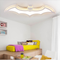 Modern LED Ceiling Light Acrylic Metal Batman Shape Children's Bedroom Lighting from Singapore best online lighting shop horizon lights