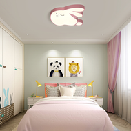 Modern LED Ceiling Light Acrylic Metal Cartoon Rabbit Shape Kids Bedroom from Singapore best online lighting shop horizon lights