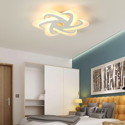 Modern LED Ceiling Light Metal Acrylic Creative Living Room Bedroom Decor from Singapore best online lighting shop horizon lights