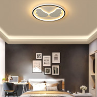 Modern LED Ceiling Light Metal Acrylic Wing Annulus Bedroom Living Room from Singapore best online lighting shop horizon lights