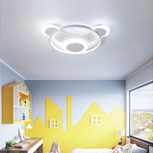 Modern LED Ceiling Light Metal PMMA Bear Shape Cute Kid's Bedroom Decor from Singapore best online lighting shop horizon lights