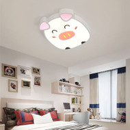 Modern LED Ceiling Light Metal Acrylic Animals Shape Cute Children's Bedroom from Singapore best online lighting shop horizon lights