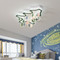 Decorated Christmas tree LED ceiling lights from Nutcrackers (white lights)