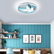 Modern LED Ceiling Light Aluminum Acrylic Cartoon Pigeon Children's Bedroom from Singapore best online lighting shop horizon lights image-1