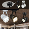 Modern LED Track Light 4PCS Metal Rotatable Shopping Malls Lighting from Singapore best online lighting shop horizon lights
