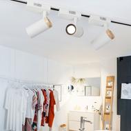 Modern LED Track Light Metal 2PCS High Quality Living Room Cloth Shops from Singapore best online lighting shop horizon lights