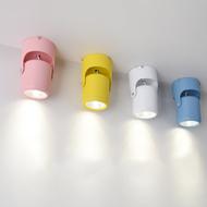 Modern LED Spot Light 3PCS Aluminum Acrylic Multi-colour Adjustable Display case from Singapore best online lighting shop horizon lights