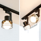Modern LED Track Light Metal Frame Lampshade Practical Living Room Cloth Shops from Singapore best online lighting shop horizon lights