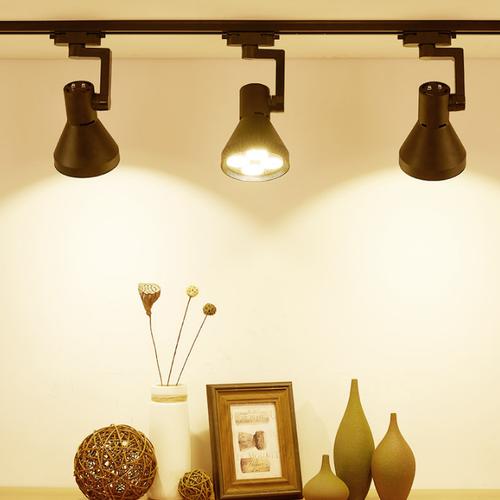 Modern LED Track Light 4PCS Aluminum Soptlight Living Room Corridor Shops from Singapore best online lighting shop horizon lights