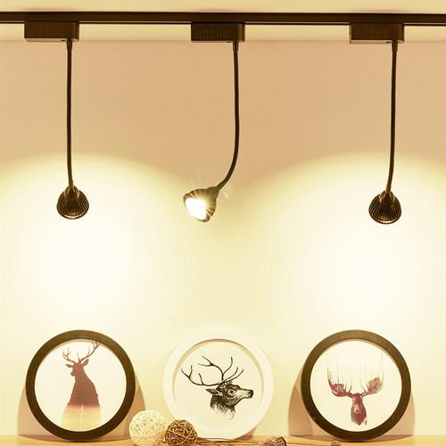 Modern LED Track Light 4PCS Aluminum Adjustable Simple Shops Living Room from Singapore best online lighting shop horizon lights