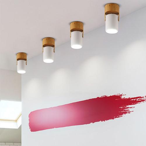 Modern LED Spot Light Wood Metal Acrylic Simple Bedroom Living Room Shops from Singapore best online lighting shop horizon lights