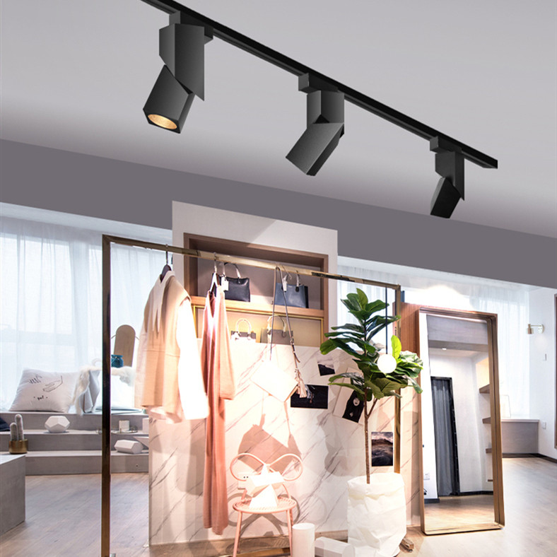 Oriental Express, Aluminium 360 degree LED Track Light for Contemporary and Industrial