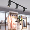Modern LED Track Light 2PCS Aluminum Square Shape Bedroom Living Room from Singapore best online lighting shop horizon lights