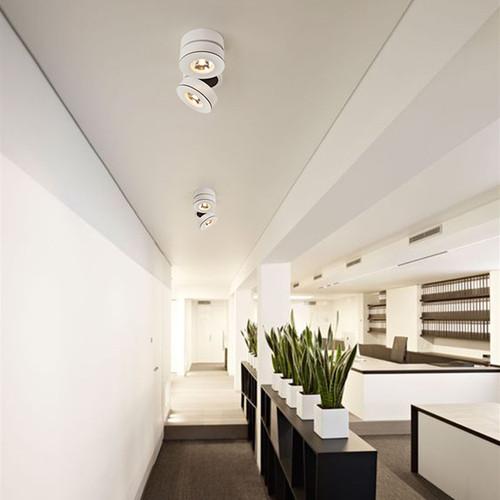 Modern LED Spot Light Dual Heads Aluminum Rotatable Shops Living Room Bedroom from Singapore best online lighting shop horizon lights