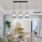 Modern LED Pendant Light Glass Gradient ramp Lampshade Dining Room Restaurant from Singapore best online lighting shop horizon lights
