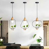 Modern LED Pendant Light 3PCS Creative Glass Metal Wood Bar Dining Room Decor from Singapore best online lighting shop horizon lights