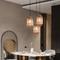 Modern LED Pendant Light Glass Pine cone Shape Creative Living Dining Room from Singapore best online lighting shop horizon lights