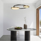 Modern LED Pendant Light Stainless steel Acrylic Round Unique Living Room Hotel from Singapore best online lighting shop horizon lights