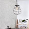 Nordic Style LED Pendant Light Metal Glass Multiple Creative Dining Living Room from Singapore best online lighting shop horizon lights occasion-2