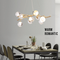 Modern LED Chandelier Light Acrylic Metal Grapevine Shape Bedroom Living Room from Singapore best online lighting shop horizon lights